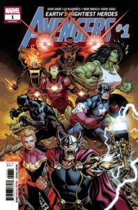 Avengers #1, Harbinger Wars 2, and DC Nation is Just 25 Cents!