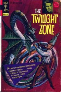 Cool Comics Enters The Twilight Zone!