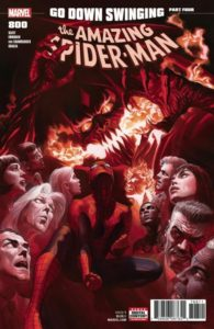 "The Amazing Spider-Man Turns 800 & at DC Bendis ""Steels"" the Show!"